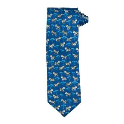 """""""Safari Zebra"""" Men's Necktie"""