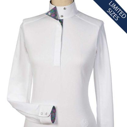"""Belize"" Ladies Wrap Collar Talent Yarn Shirt"