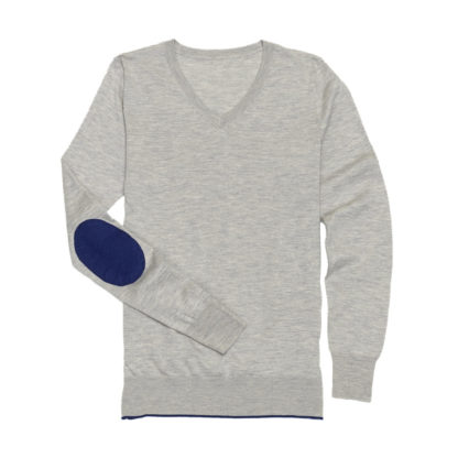 "Grey ""Trey"" V‑Neck Sweater"